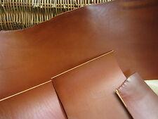 Saddle tan cuir pleine fleur vachette pieces 2-2.4mm d'épaisseur divers taille, craft