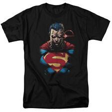 Superman Displeased Mens Short Sleeve Shirt