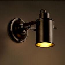 Vintage Industriel Mezzanine Rustique Fer Applique Murale Porche/Allée Lampe