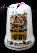 Dé à coudre Thimble Monument Les HOSPICES DE BEAUNE #K15