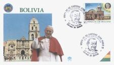 Bolivia 1988 Jan Pawel II papież John Paul pope papa (88/1)