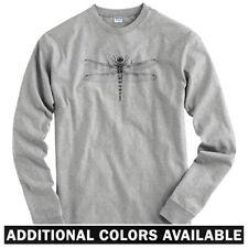 Dragonfly Long Sleeve T-shirt - LS Men S-4X - Insect Bug Anisoptera Entomology