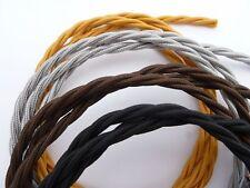 10M Vintage Color 2 core twist gevlochten stof kabel flex draad elektrisch licht