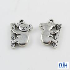 Bulk Koala Charm Pendant Aussie Australian animal souvenir Select Qty 5/10/20/50