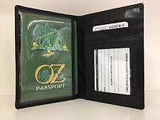 iLi Leather Passport Case Holder Wallet for Travel 6753