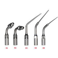Dental E1E2 E3 E4 E5 Ultrasonic Scaler Scaling Endo Perio Tip Fit EMS Woodpecker