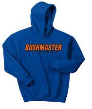 Bushmaster Hooded Sweat Shirt Hoodie Gun Lovers Sports Man Outdoor S - 3X Hunt