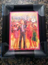 2011 Kentucky Derby and Kentucky Oaks Framed Program Art