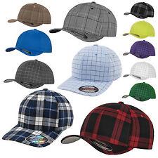 Original FLEXFIT® CAP Baseballcap PLAID / PINSTRIPE / SQUARELINE / GLEN CHECK