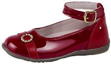 Primigi Leather Ballerinas Red Patent Ballet Pumps Party Shoe Infants Girls Size