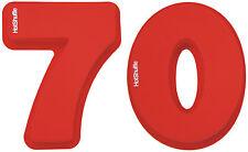 Gran Silicona número 70 Cake Tin Molde 70º Cumpleaños Boda Aniversario Regalo