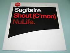 """SAGITAIRE - SHOUT (C'MON) Trance 12"""" AIRSCAPE REMIX"""