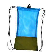 sac de cordon de maille pour la plongée sous-marine tuba palmes lunettes