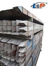 (4,71€/lfm) 60x60 mm Bongossi Pfähle Hartholz Pfosten Kantholz