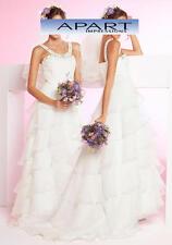 Hochzeitskleid, Brautkleid, APART, creme. K-Gr. 18(36)NEU!!! KP 319,- SALE%%%