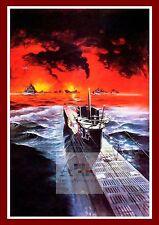 Das Boot  2  German Movie Posters Classic Vintage Films