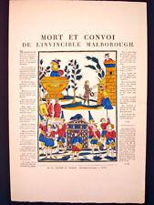 Vintage Imagerie Pellerin Le Grand Querelle du Menage Inv1698