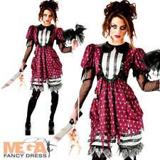 Little Bo Peep Creep Ladies Halloween Fairytale Horror Womens Adults Costume NEW