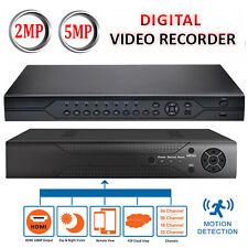 CCTV DVR 4 8 16 Channel AHD 1080N/1920P Video Recorder Full HD VGA HDMI BNC UK