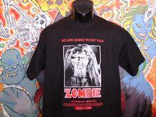 """Zombie """"Long Hair"""" Shirt Lucio Fulci Dario Argento Horror"""