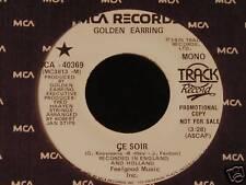 Golden Earring-Ce Soir-'75 PROMO 45-NM!