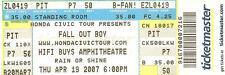 2007 APRIL 19 FALL OUT BOY ATLANTA UNUSED TICKET STUB