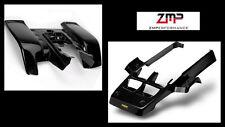 NEW YAMAHA BANSHEE YFZ 350 BLACK RACE FRONT AND REAR FENDER SET PLASTIC