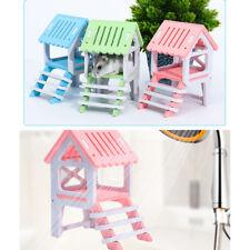 Modern House Loft Cage Exercise Toy for Hamster Hedgehog Mouse Guinea Pig