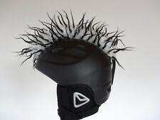 Irokese casco esquí nuevo negro blanco cabellos negros helmirokese Mohawk