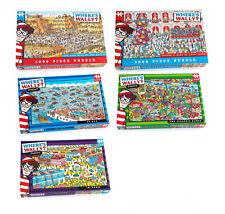 Where's Wally Jigsaw Puzzle 100 to 1000 Pieces Sea, Jurassic, Aztec Paul Lamond