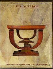 RARE TAJAN IMPORTANT INTERIOR Ruhlmann Dunand Lambert-Rucki Lenoble Catalog 1999