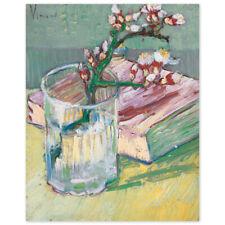 Vincent van Gogh, Stillleben mit blühendem Mandelzweig, Poster