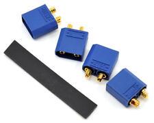 """PTK-5038 ProTek RC 4.5mm """"TruCurrent"""" XT90 Polarized Device Connectors (4 Male)"""