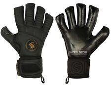 Supersave Pro Suprema Hybrid cut Contact Black Football Goalkeeper Gloves