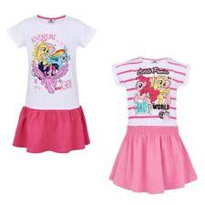 Children Mini Dress Tunic Girl My Little Pony Dress White Pink 92 - 128 #102