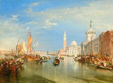 """J.M.W. Turner: """"Venice: Dogana and San Giorgio Maggiore"""" (1834) — Fine Art Print"""