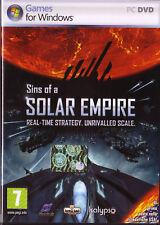 PC DVD • Sins of the Solar Empire • ITA ORIGINALE NUOVO