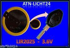 Schlüssel Key Akku Battery LIR2025 BMW 3 5 7 X3 X5 E46 E38 E39 E60 E61 E53 E83