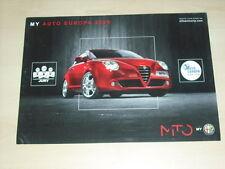 36605) Alfa Romeo MiTo Italien Prospekt 2009