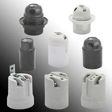 Lampen Sockel E14 E27 Porzellan Kunststoff Fassung Adapter Sockel Lampenfassung