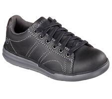 Boys Kids Skechers 93873L/BLK Maddox - Banter Sneaker 100% original Brand New
