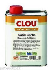 Clou W2 Antikwachs Antik-Wachs farblos 250ml 750ml