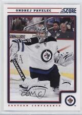 2012-13 Score #488 Ondrej Pavelec Winnipeg Jets Hockey Card