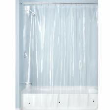 Interdesign Peva Plastic Shower Bath Liner, Mold And Mildew Resistant For Use Al