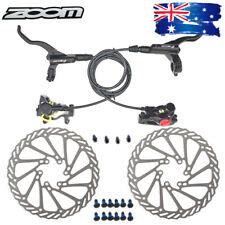 MTB Bike Hydraulic Disc Brake Calipers 160/180mm Disc Brake Rotor 6 Bolts Steel