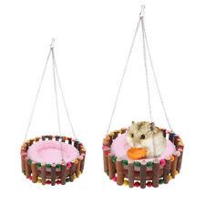 Blesiya Hamster Squirrel Cage Hammock Warm Hanging Nester Bed Random Color