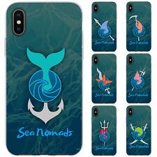 dessana Sea Nomads TPU Silikon Schutz Hülle Case Handy Tasche Cover für Apple