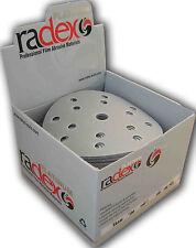 RADEX Platinum Schleifscheiben  P80-800 15 Löcher 150mm. * NEU IN DEUTSCHLAND *