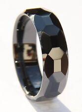 einmaliger Zirkonia Keramik Ring schwarz RFCE011