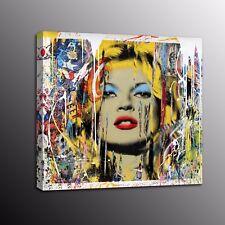 Banksy Art Giclee Canvas Prints Street Art Wall Painted Women Home Decor Poster
